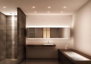 IP 44 badkamer led inbouwspots